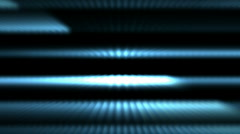 Blue stripe light lines and laser weapon,ECG,Cardiac arrest,heart stop medical Stock Footage