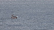 Stock Video Footage of Fishingboat in the sea
