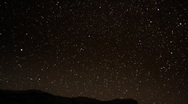 Geminids Meteor Shower 17 Timelapse Dark  Milky Way Stock Footage