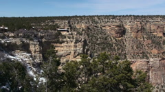 Grand Canyon View Stock Footage