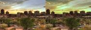 3D Albuquerque Sunset 1920 Stock Footage
