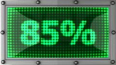 Percentage Stock Footage