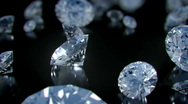 Stock Video Footage of Diamonds