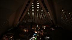 Resort Las Vegas interior night HD 9220 Stock Footage