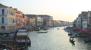 Stock Video Footage of Rialto bridge, Venice, Italy
