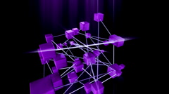 Cube ae Stock Footage