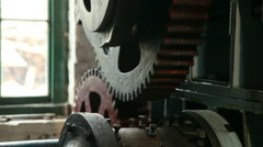Large old victorian engine 02 Stock Footage