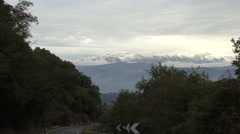 Italy Abruzzo National Park zoom in  Stock Footage