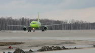 Stock Video Footage of Airplane taxiing