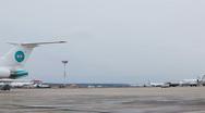 Stock Video Footage of Airport runway