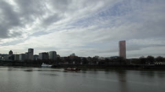 P-Town Clouds n River Stock Footage