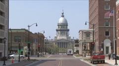 Springfield, Ill Stock Footage