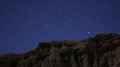 Geminids Meteor Shower 06 Timelapse  Milky Way Pan HD1080 24p Stock Footage