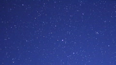 Geminids Meteor Shower 08 Timelapse  Milky Way HD1080 24p Stock Footage