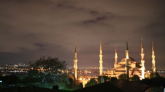Blue Mosque Stock Footage