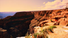 Grand canyon west rim Stock Footage