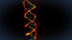 DNA background - stock footage