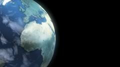 Earth Loop Stock Footage