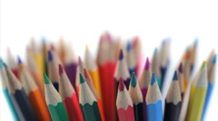 Stock Video Footage of Several color pencils