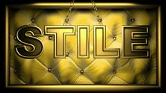 Stile  Stock Footage