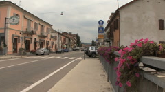 Italy Barolo Gallo street Stock Footage