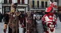 Venice Carnival portraits HD Footage