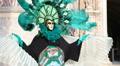 Venice Carnival portrait Footage