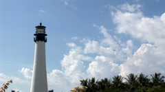 Time lapse in  lighthouse Stock Footage