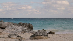 Caribbean Ocean Mexico (HD) Stock Footage