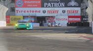 Long Beach Grand Prix 2011 series racing - 1080p - 04 Stock Footage