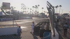Long Beach Grand Prix 2011 series racing - 1080p - 01 Stock Footage