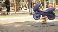 Playground Stock Footage