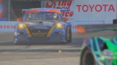 Long Beach Grand Prix 2011 series racing - 720 60p - 01 Stock Footage