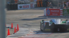 Long Beach Grand Prix 2011 series racing - 720 60p - 16 Stock Footage