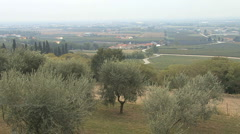 Italy edge of Po Valley  Stock Footage
