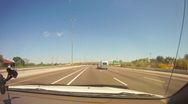 From Pheonix into the middle of nowhere in timelapse Stock Footage