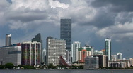 Stock Video Footage of Time lapse in Brickell skyline, Miami