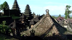 Temple Rooftops Stock Footage