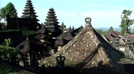 Stock Video Footage of Temple Rooftops