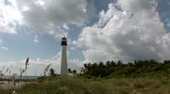 Stock Video Footage of Time lapse in  lighthouse with clouds
