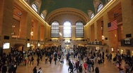 Stock Video Footage of Grand Central slow motion