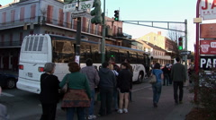 New Orleans Toulouse street Stock Footage