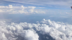 Cloud flythrough Stock Footage