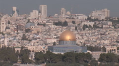 Stock Video Footage of Old Jerusalem