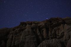 4K Geminids Meteor Shower 01 Timlapse  Milky Way Fast 24p Stock Footage