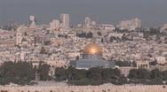 Old Jerusalem Stock Footage