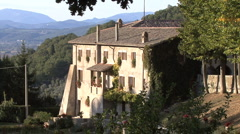 Stock Video Footage of Italy La Foresta monastery