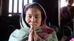 Nepal: Namaste Stock Footage