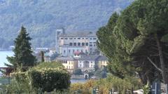 Italy Orta San Giullo Stock Footage