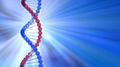 Rotating DNA molecule Stock Footage